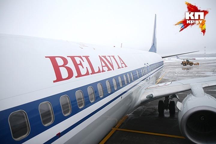 Саперы ищут бомбу наборту рейса Минск