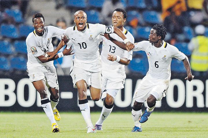 Сборная РФ пофутболу сразится скомандой Ганы