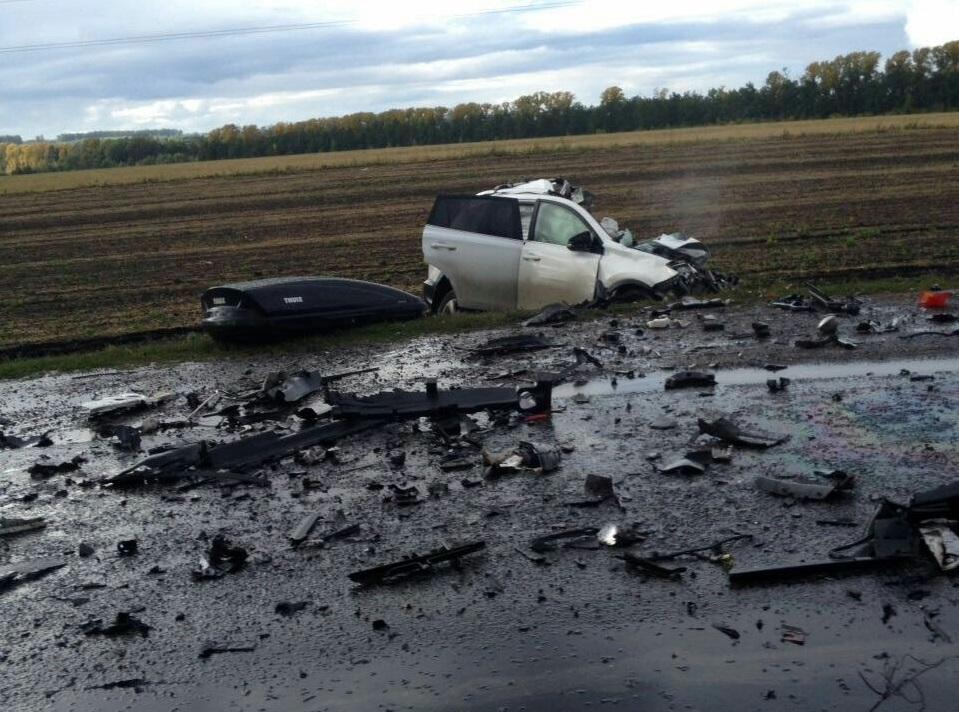 ВБашкирии случилось тройное ДТП на влажной трассе, необошлось без жертв