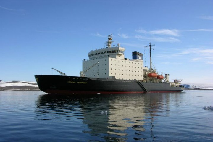 «Роснефть» обучается двигать айсберги вАрктике
