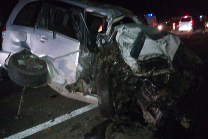 Женщина погибла в итоге чудовищного лобового стокновения машин под Тосно