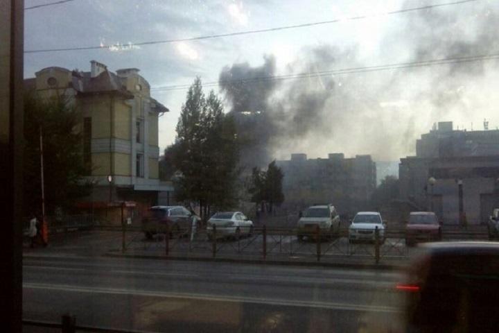 Первопричиной возгорания магазина спорттоваров стало короткое замыкание— МЧС Татарстана