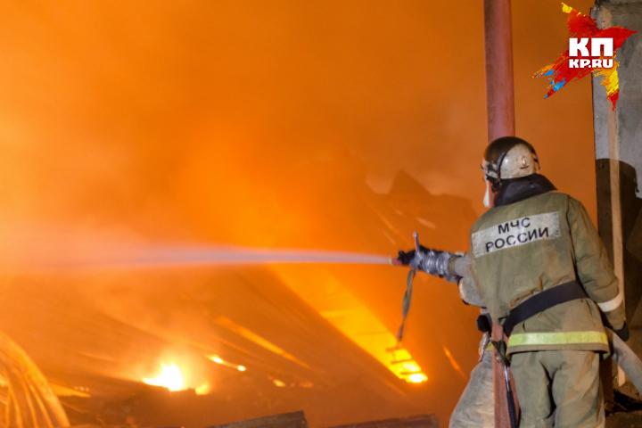 ВОмске напожаре погибло два человека