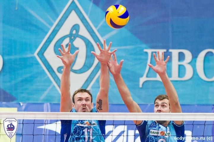 Волейболисты краснодарского «Динамо» потерпели 3-е поражение настарте постоянного чемпионата РФ