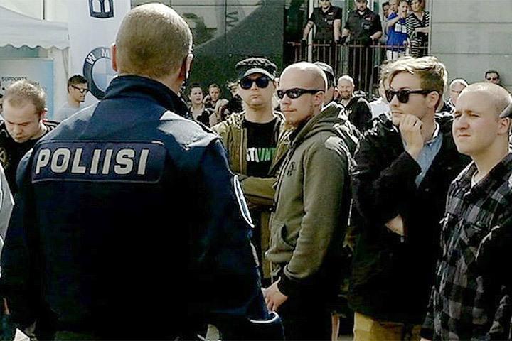 Финский суд продлил арест неонациста, подозреваемого в избиении прохожего. Фото: с сайта revleft.com