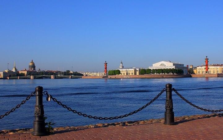 Фото: Андрея Сеничева. Одно из красивейших мест Северной столицы
