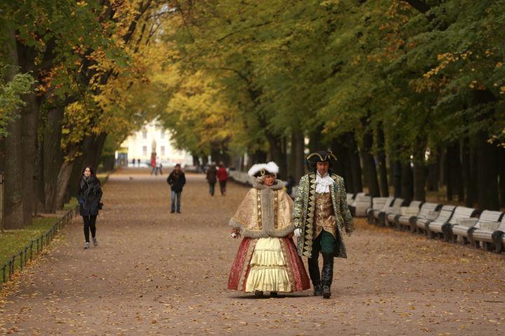 В Северной столице наступила ненастная осень