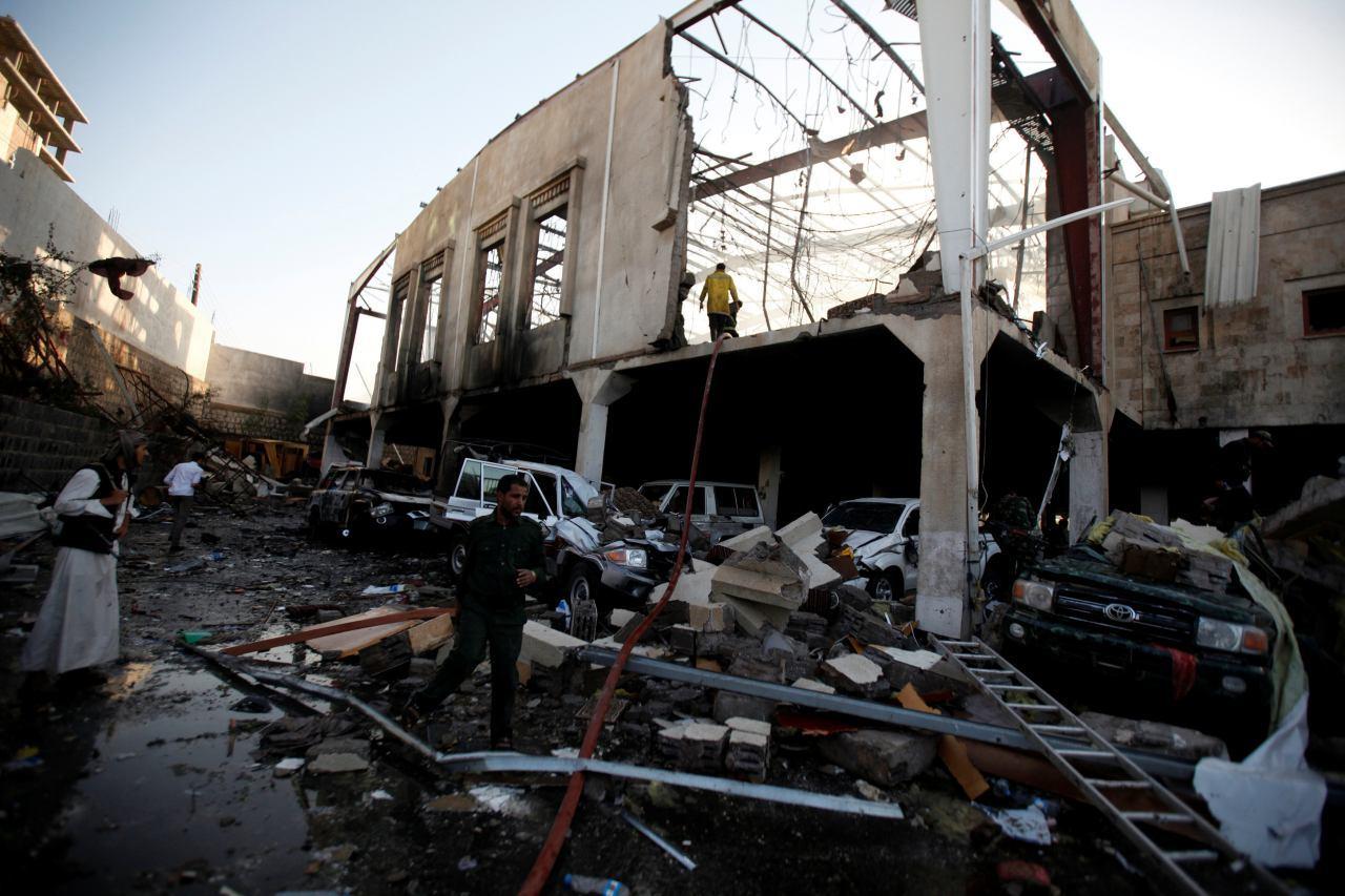 В результате авиаобстрелов в столице Йемена пострадали несколько сотен человек