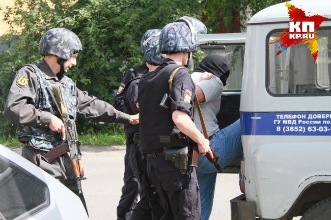 ВТобольске пойман подозреваемый всерии вооруженных нападений наАЗС