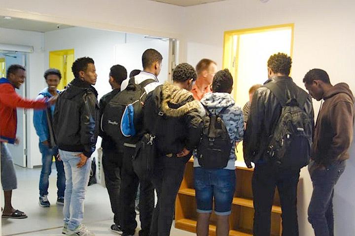 Около 40 несовершеннолетних беженцев в воскресенье, 9 октября, приняли участие в массовой драке в детском миграционном центре Дании. Фото: с сайта denoffentlige.dk