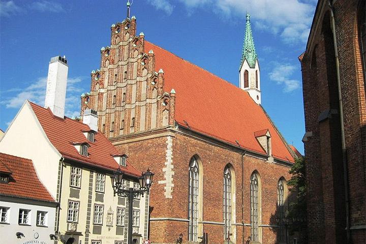 Рижская церковь Святого Иоанна. Фото: с сайта citariga.lv