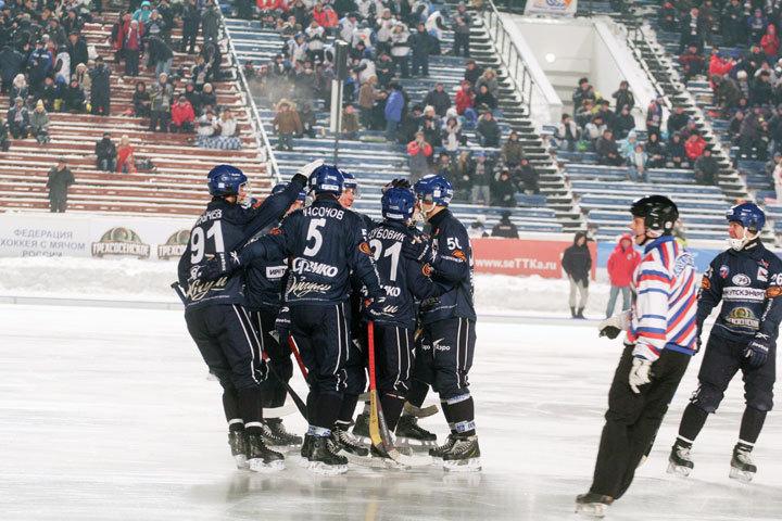 «Байкал-Энергия» не смог выйти вплей-офф Кубка мира побенди