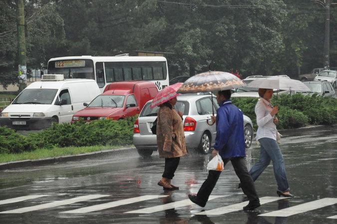 12 октября в Молдове ожидается дождливая погода.