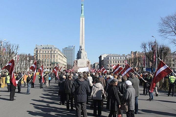 «Лесные братья» в основном состояли из бывших бойцов латышского легиона СС. Фото: с сайта baltnews.lv