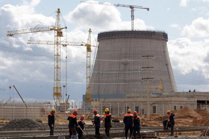 Литва критикует Беларусь за несоблюдение стандартов безопасности при строительстве АЭС. Фото: с сайта sb.by