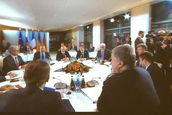 """В столице Германии началась встреча в """"нормандском формате"""""""