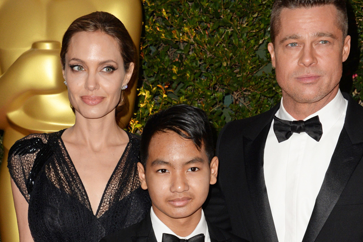 Старший сын Анджелины Джоли иБрэда Питта не разговаривает сотцом