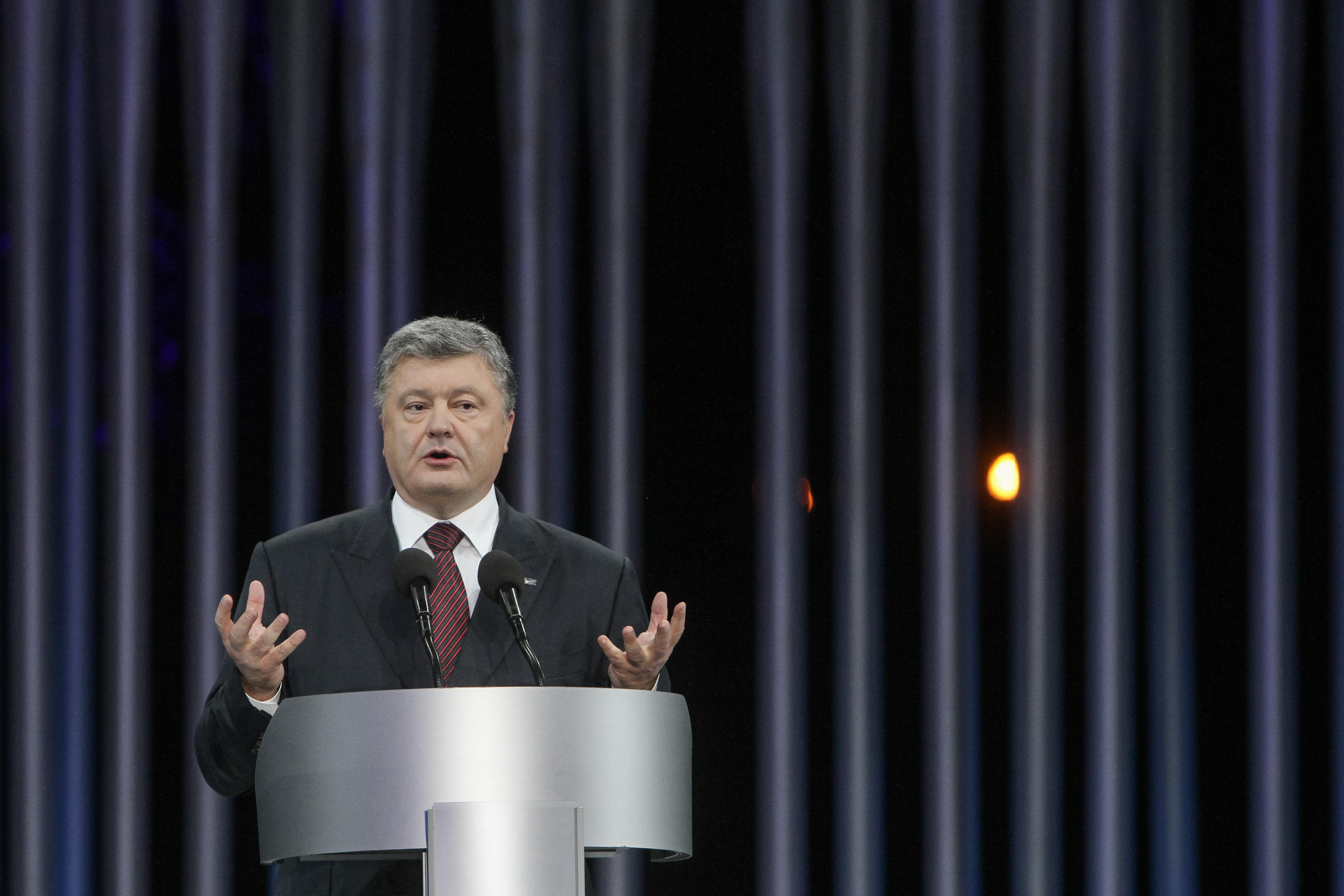 Декларация: Порошенко потратил 160 млн грн напокупку ценных бумаг в2015
