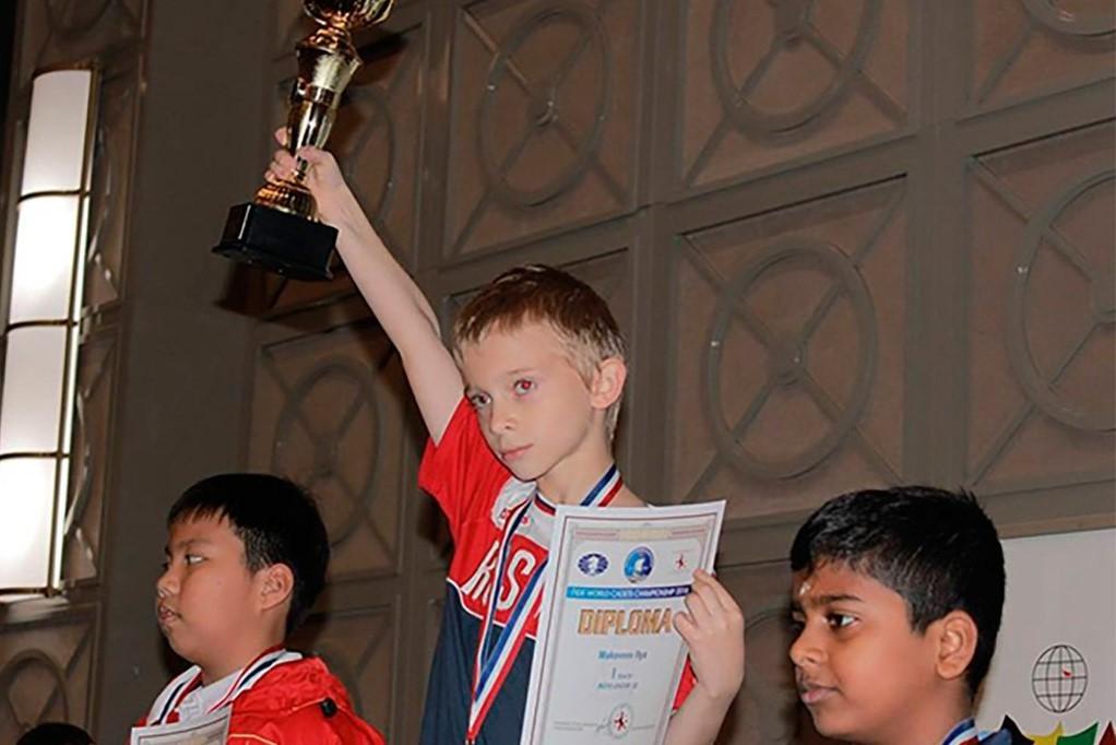 Шахматист изГеленджика стал чемпионам мира среди детей до10 лет