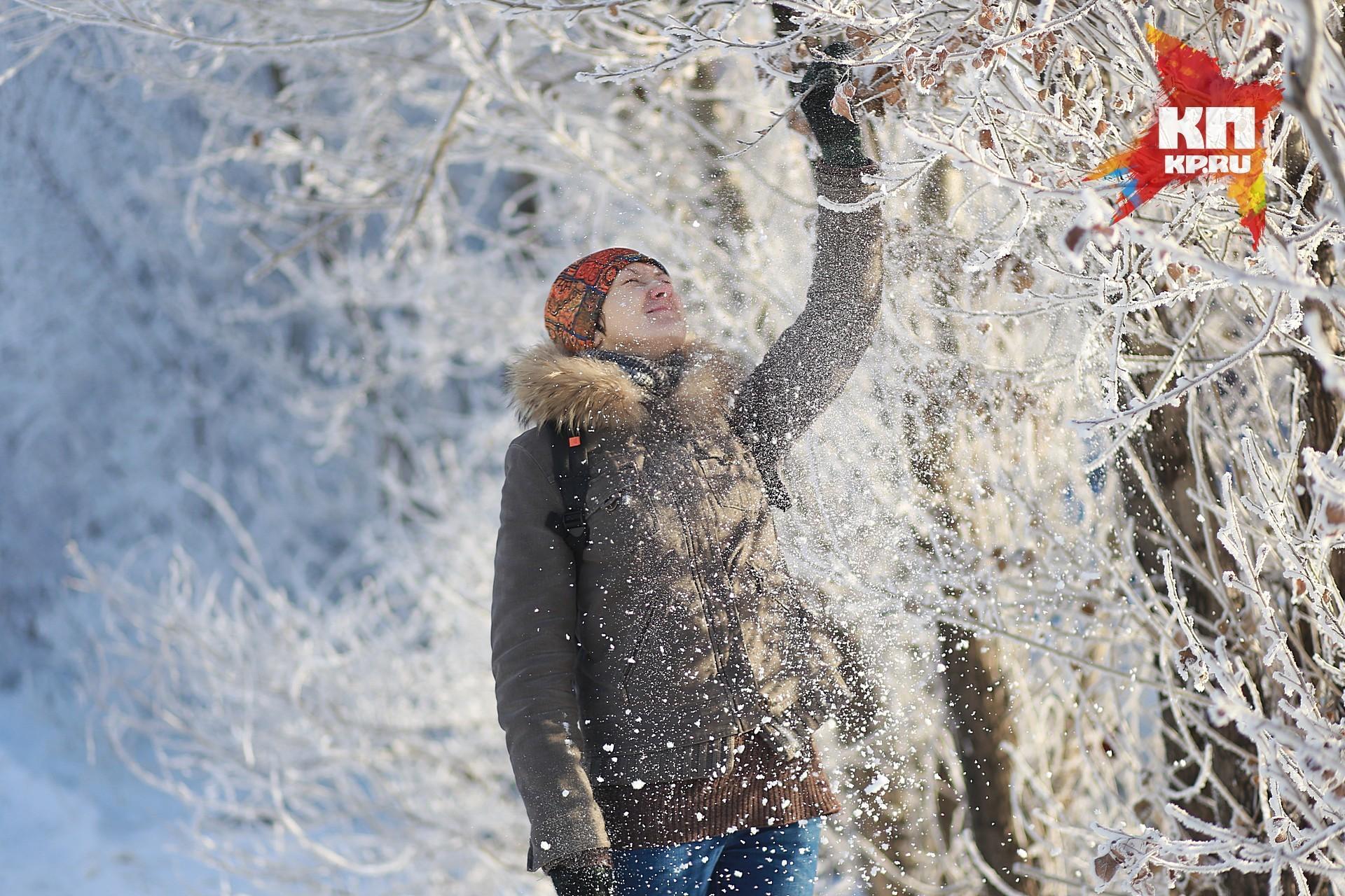 Наступающая неделя вКрасноярске будет снежной ипрохладной