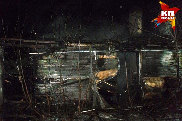 ВДербышках врезультате сильного возгорания погибло 2 человека