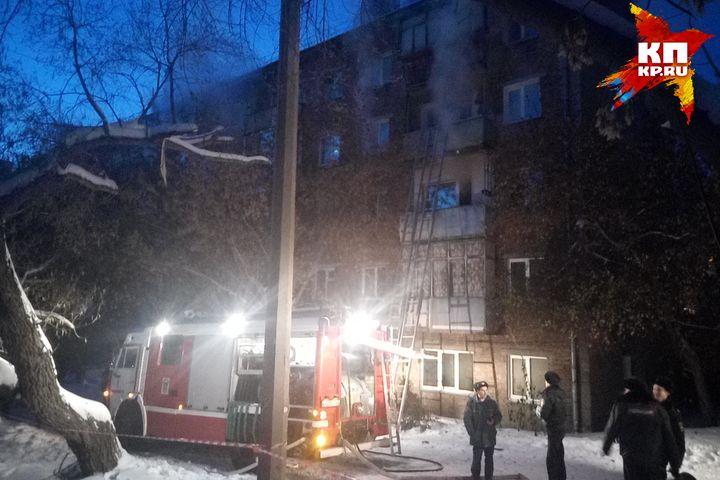 Два человека погибло при пожаре вНовосибирске