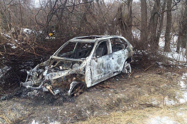 Возбуждено дело о погибели людей всгоревшем БМВ X5