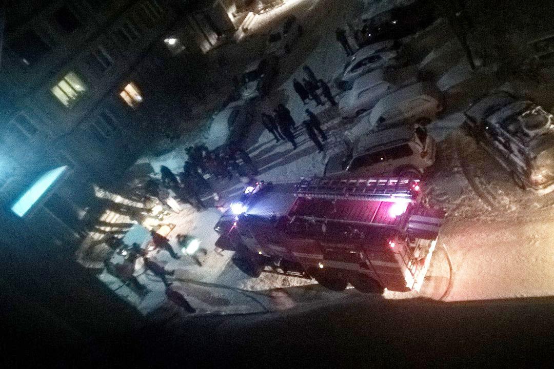 ВБийске в итоге пожара вмусоропроводе пострадала женщина