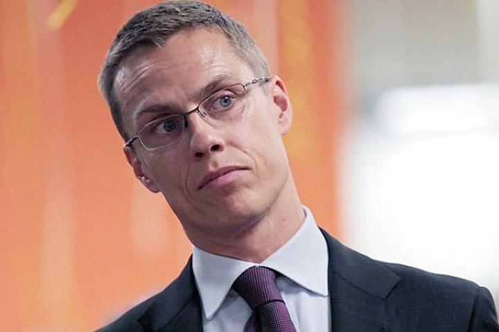 Экс-премьер Финляндии Александер Стубб.