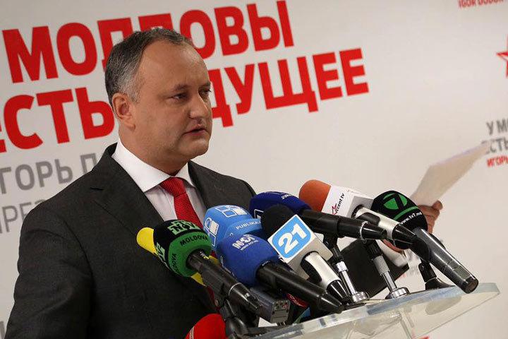 Игорь Додон рассказал, что он будет делать после того, как стал главой государства.