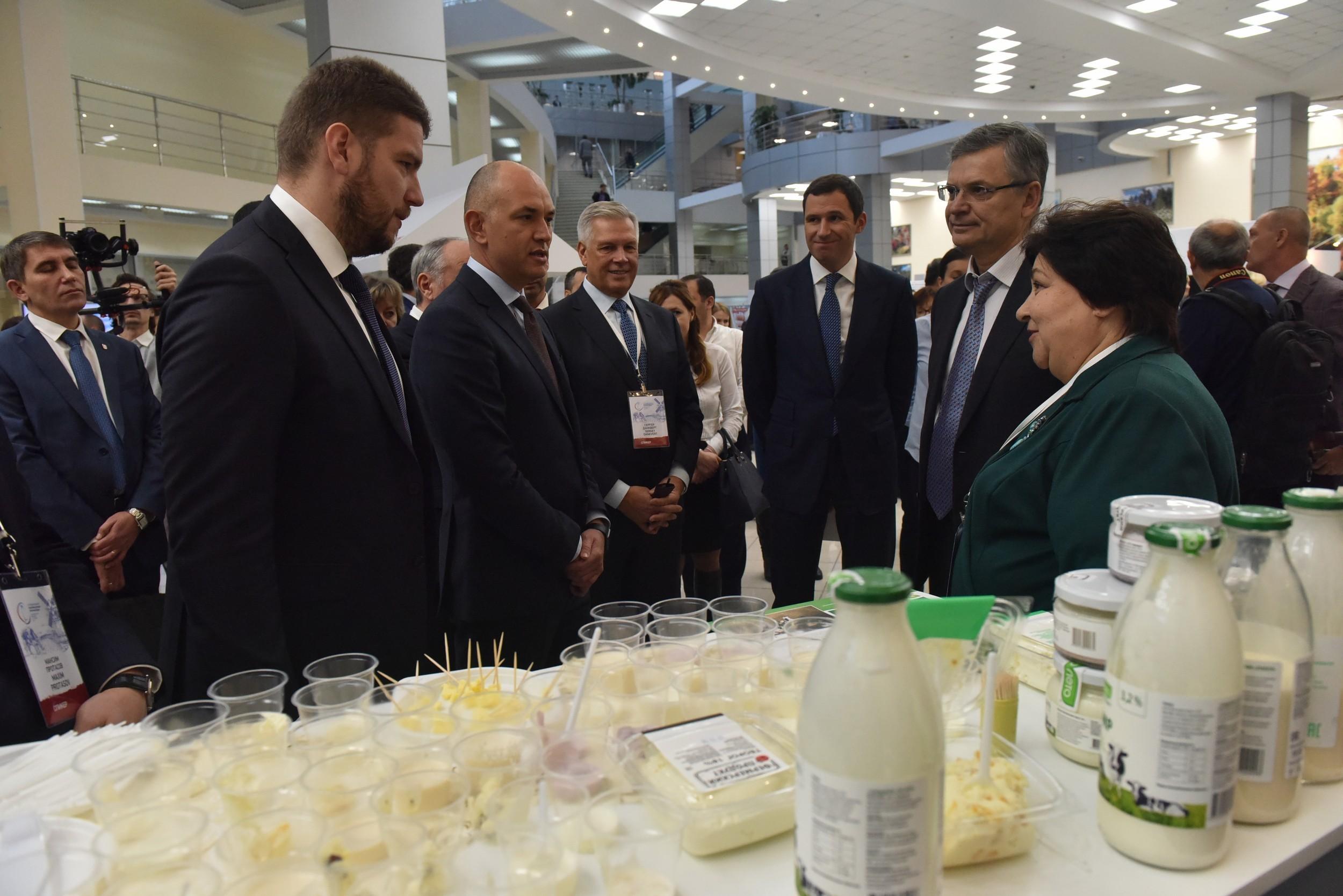 В Красногорске прошел III Международный агропромышленный молочный форум.