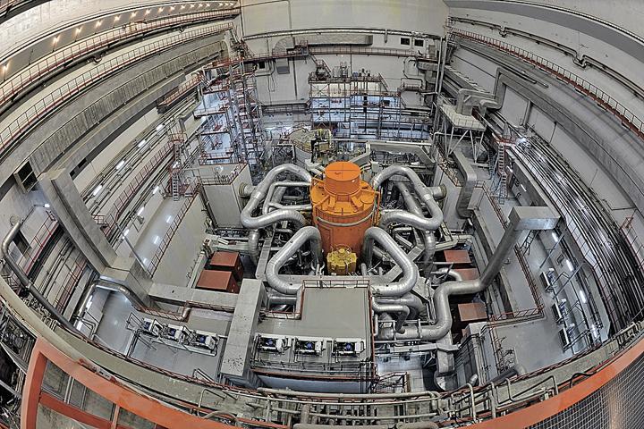"""Реактор БН-800 на Белоярской АЭС. Фото: Пресс-служба """"Росатома"""""""