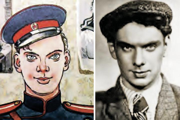 В дяде Степе, нарисованном художником Константином Ротовым, были запечатлены черты лица Баталова. Фото: из книги