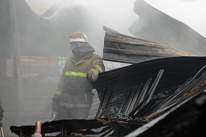 ВТимашевском районе произошел мощный пожар вжилом доме