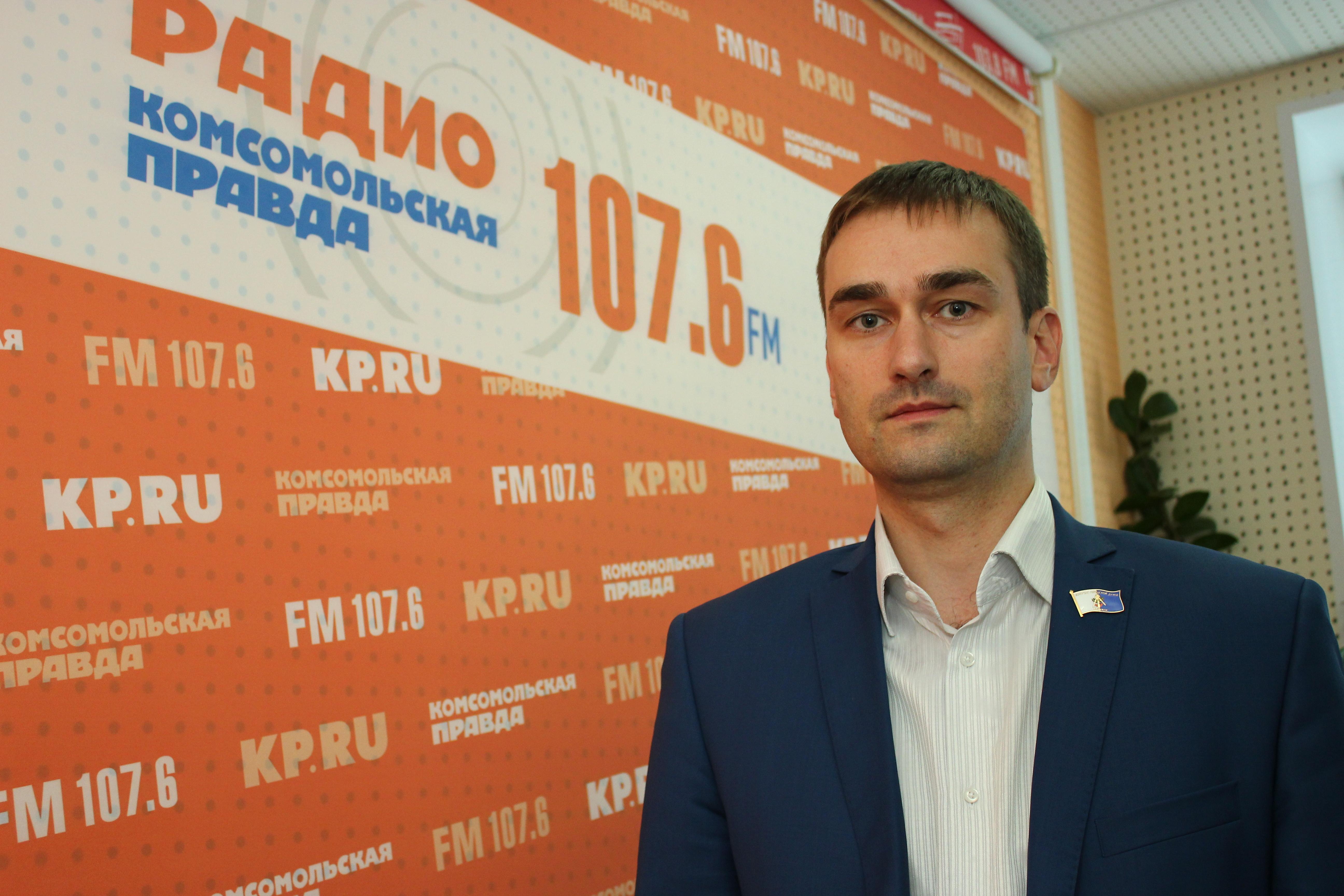 "Директор ""УКС"" Ярослав Балобанов"