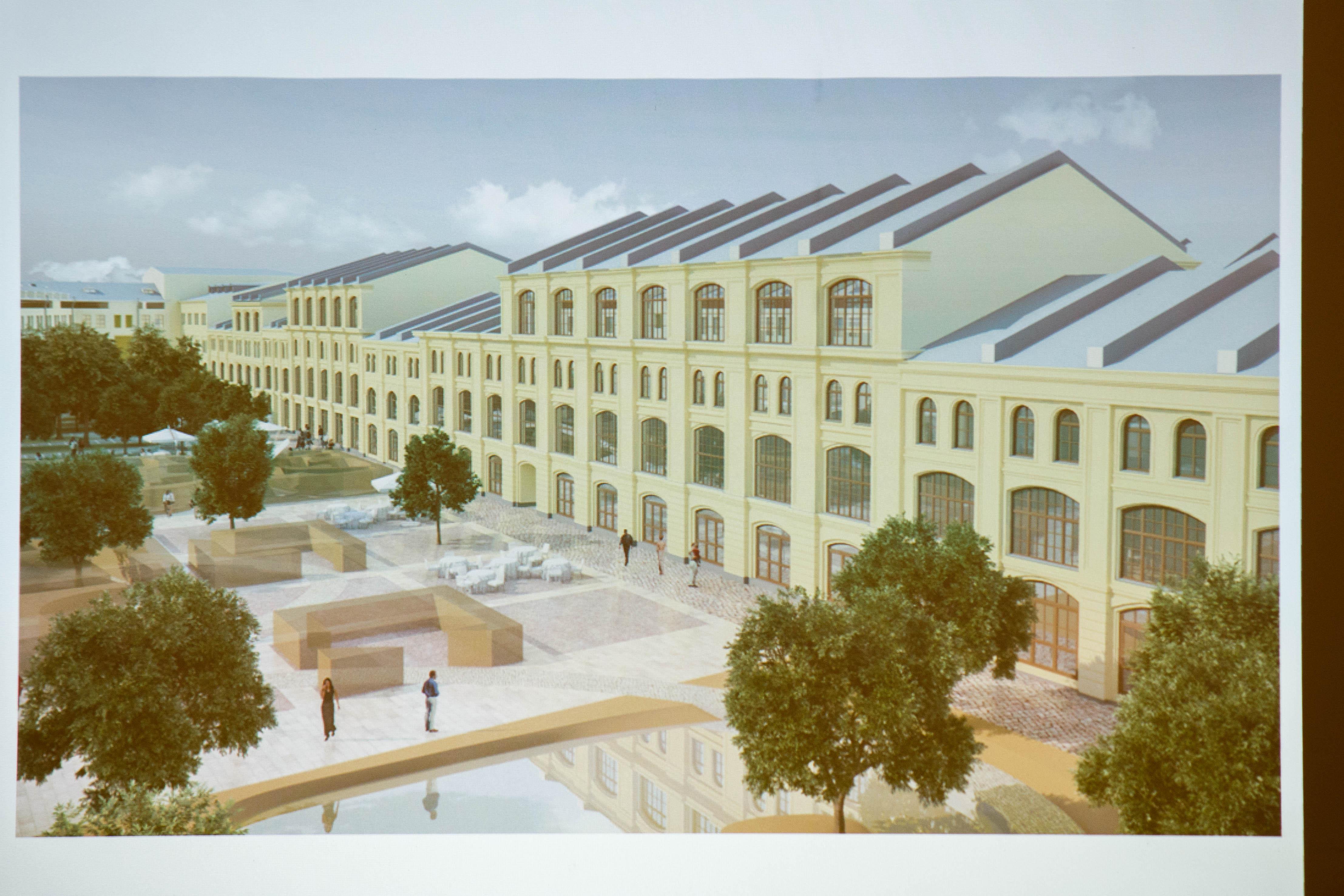 Архитекторы представили план, который покорил всех.
