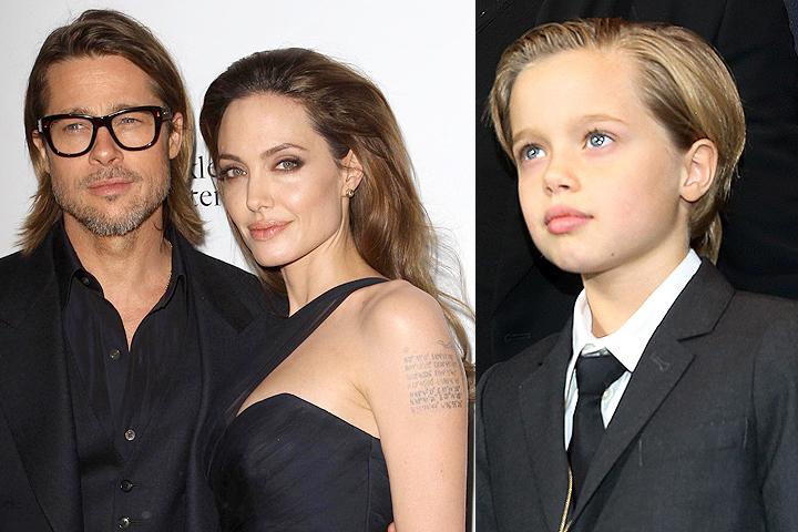 10-летняя дочка Питт и Джоли Шайло попыталась помирить родителей.