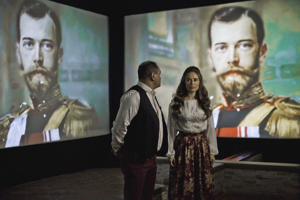 Выставка представляла собой аудиовизуальный ряд Фото:Юлия Михалкова