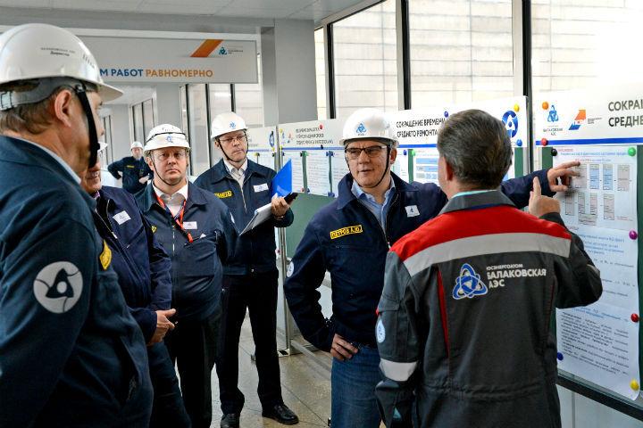 Балаковская АЭС дополнительно выработала электроэнергии на 474 млн рублей.