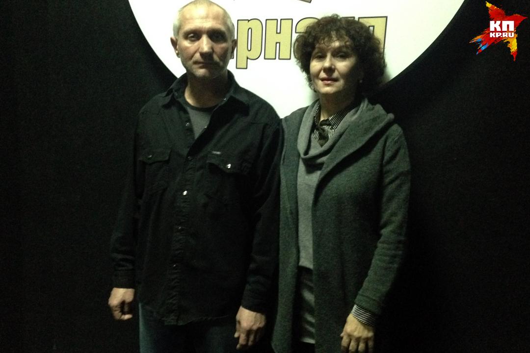 Ведущие актеры драмы Александр Хряков и Галина Зорина