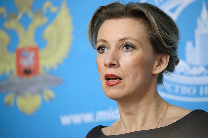 Официальный представитель российского МИДа Мария Захарова. Фото: Артем Геодакян/ТАСС