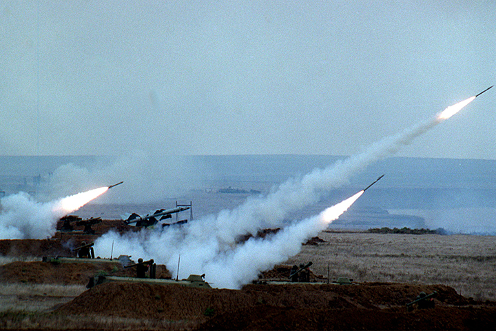 Незалежная объявила, что устроит стрельбу 1 и 2 декабря. Фото: Олег БУЛДАКОВ/ТАСС