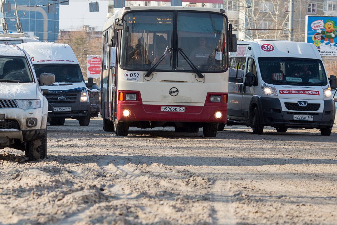 Челябинские автобусы впору заносить в Красную книгу.