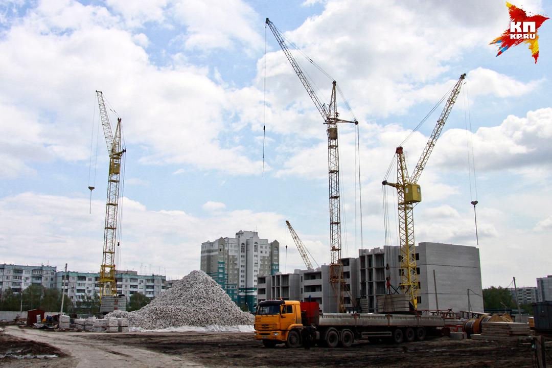 В 2015 году сдано 890 тысяч кв. метров жилой площади - это рекорд за последние 24 года!