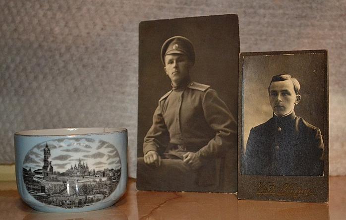 Голубая чашка многое рассказала о ее владельце, Михаиле Сергеевиче Яковлеве. Фото: из архива Екатерины СЕЛУНСКОЙ