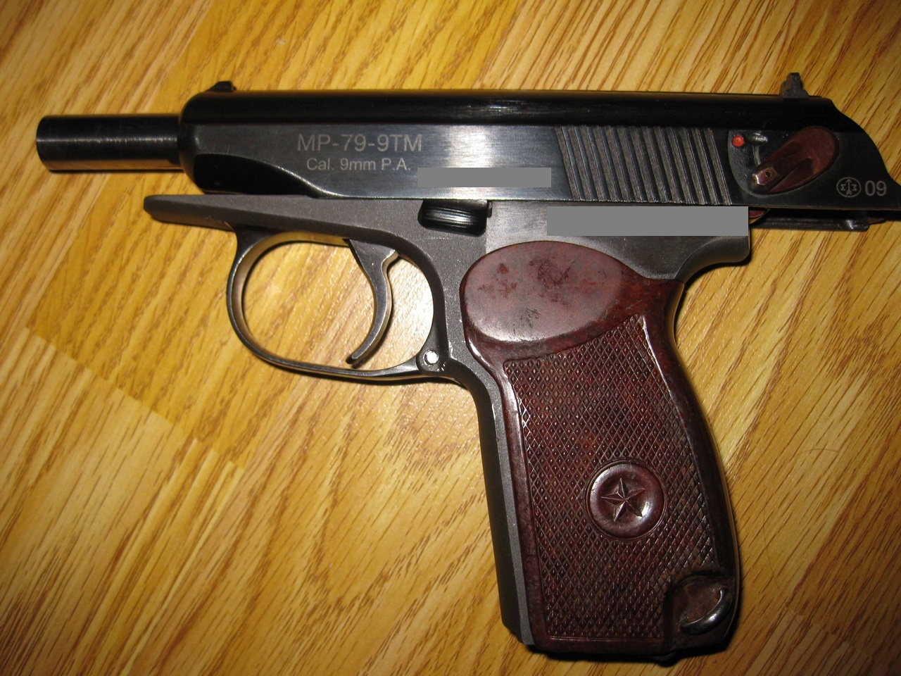 ВСамаре мужчина отобрал упенсионера травматический пистолет