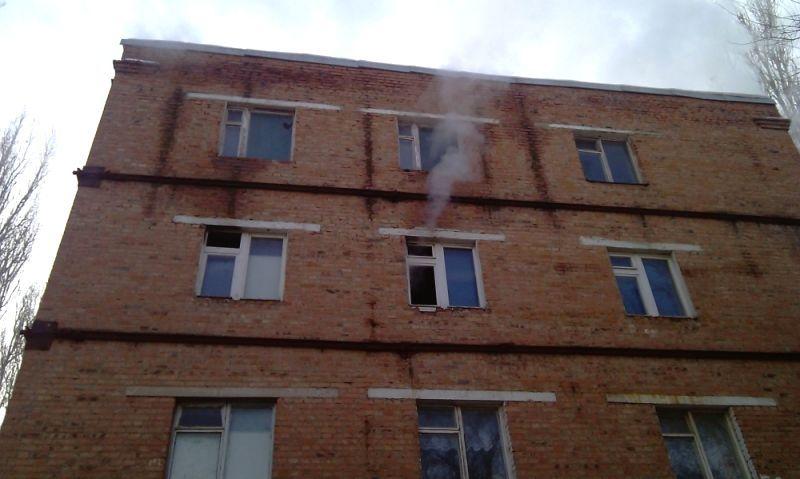 ВСальске из-за короткого замыкания загорелось сооружение местного ПТУ