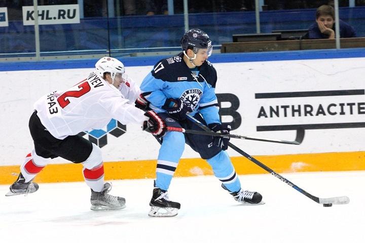«Сибирь» проиграла основному аутсайдеру КХЛ— Хоккей