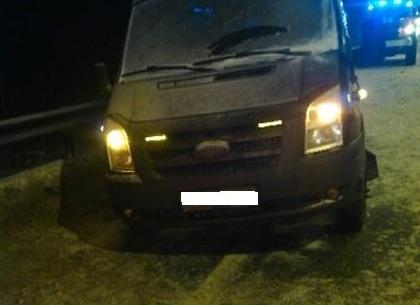 Под Тулой столкнулись цементовоз имикроавтобус: пострадали 8 человек