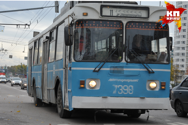 ВБрянске могут отменить вечерние рейсы троллейбусов №3